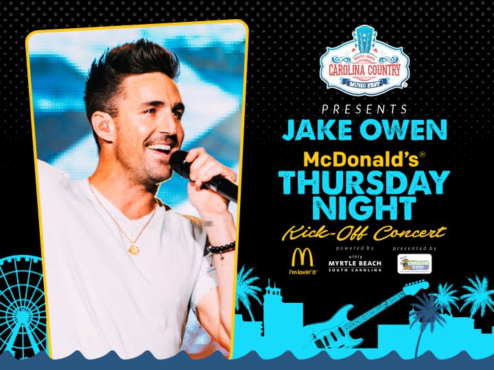 McDonald's Thursday Night Kickoff Concert Presents, JAKE OWEN!