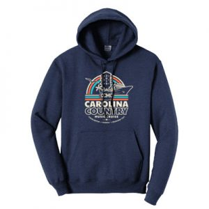 CCMC 2019 – Official Cruise Hoodie – Navy