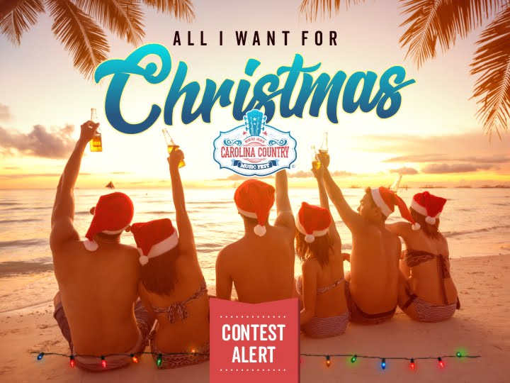 All I Want For Christmas Contest – CCMF 2021!