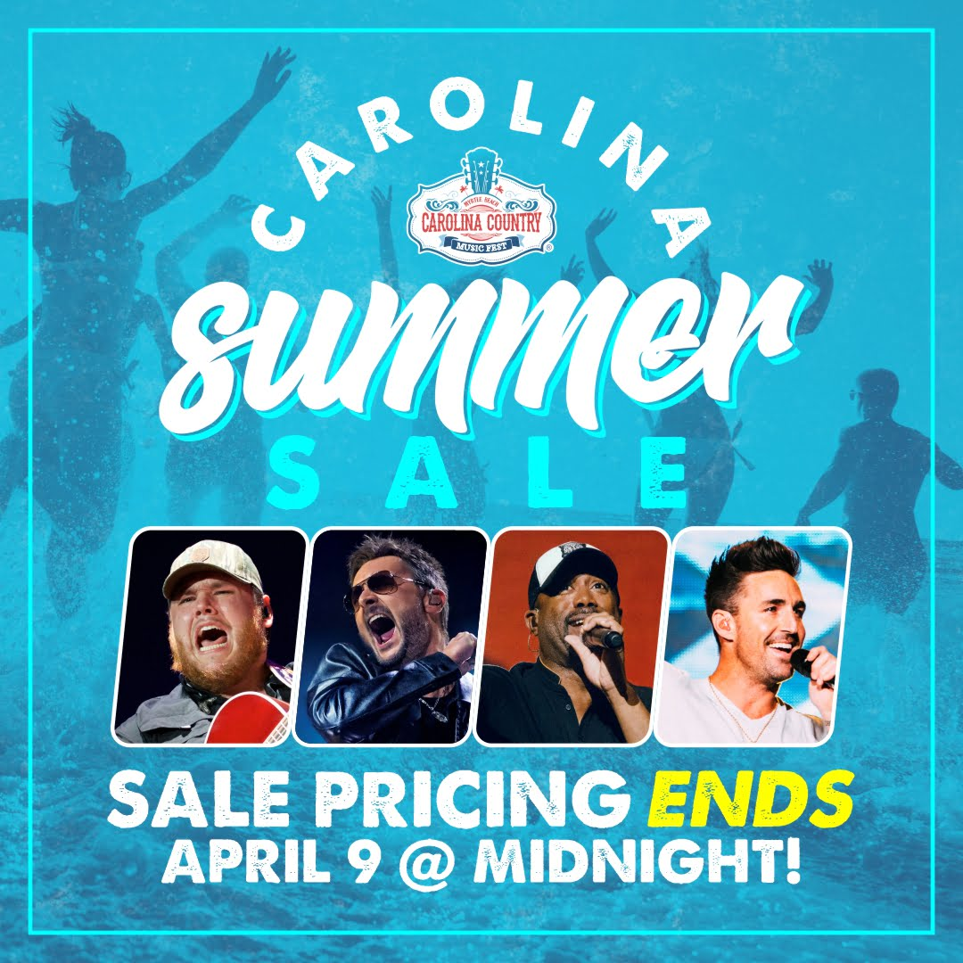 Carolina Summer Sale pricing ends April 9th at Midnight!
