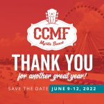 Thank You For Another Great Year! SAVE THE DATE: June 9-12, 2022!