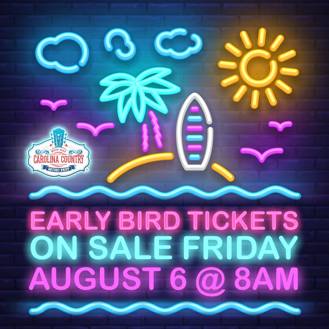 Early Bird Tickets on Sale August, 6!